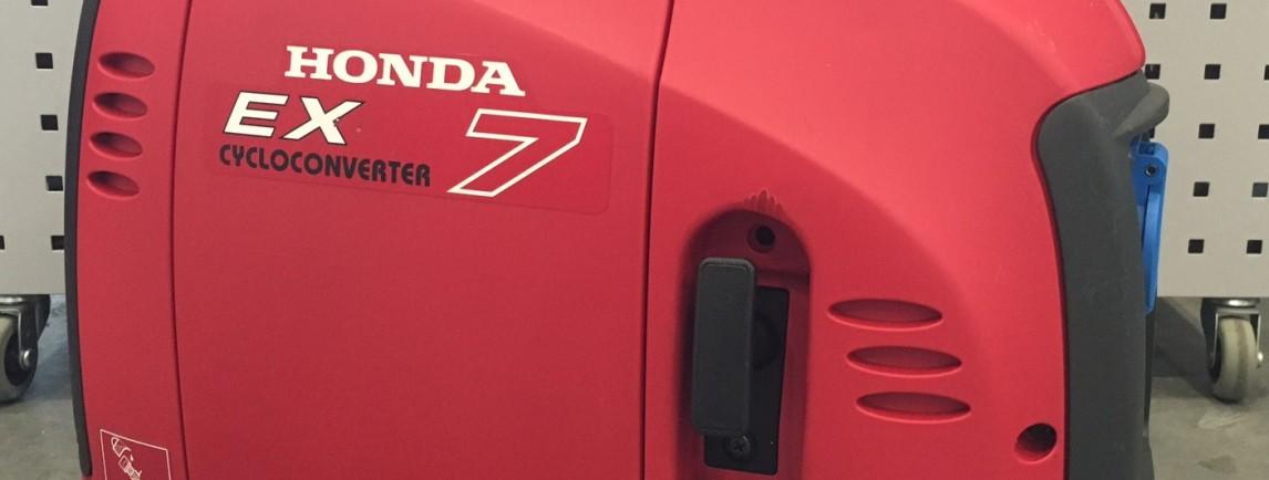 Honda generator EX 7 (Demo model)