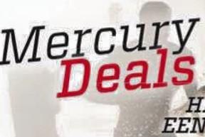Mercury Buitenboordmotor actie!